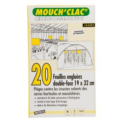 MOUCH'CLAC Chromatic jaune...