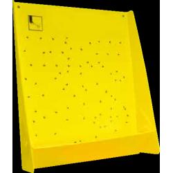 Grand panneau jaune